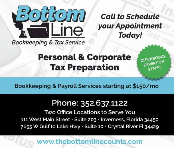 Bottom Line Bookkeeping 1-6 0320
