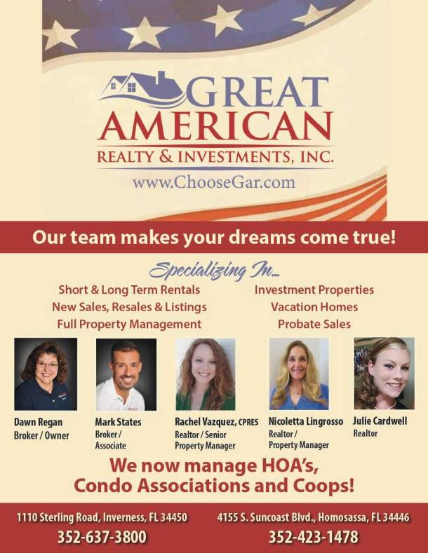 Great American Realty 1-4 0320
