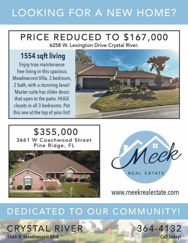 Meek Real Estate 1-4 0320